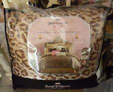 Juicy Couture Animal Instinct 2-Pc Comforter Twin/Xl Set-Leopard-Brand New