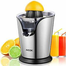 New listing Electric Citrus Juicer Stainless Steel Orange Juicer Squeezer with 100W Ultra