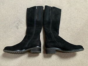 Gabor Brook XS ladies suede boots   black   size 3   new