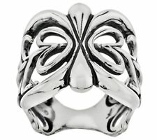 AMERICAN WEST JEWELRY STERLING SILVER SCROLL DESIGN BAND RING SIZE 5 QVC