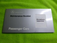 MERCEDES BENZ MAINTENANCE SERVICE BOOK 10,000 K INTERVALS NEW