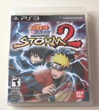 SONY PlayStation 3 PS3 Naruto Shippuden: Ultimate Ninja Storm 2 (COMPLETE)