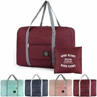 Foldable Travel Luggage Baggage Storage Carry-On Portable Waterpoof Bag US Stock