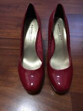STEVE MADDEN GIRL SCARPE SHOES DONNA PUMPS DECOLTÈ N 40 TACCO 10 ROSSO