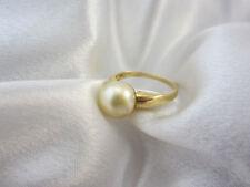 Klassischer Ring aus Gold 585 mit Südsee-Zuchtperle