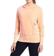 $54 Fox Women's Reborn Hoody Pop Color Light Orange Size XS