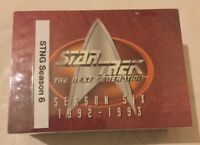 STAR TREK NEXT GENERATION TNG SEASON 6 SIX COMPLETE BASE CARD SET SKYBOX 1997