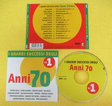 CD Compilation I Grandi Successi Degli Anni 70 Vol.1 DELIRIUM NOMADI no lp(C16)