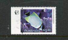 2010 Fishes of The Reef  MUH $1.80 Butterfly Fish - 1 Koala Reprint (Left)