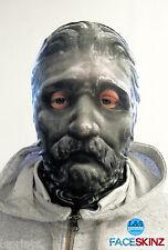 3d Efecto Piedra Gris Cara Piel Máscara de Lycra Halloween lsprints