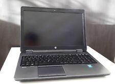 "HP Zbook 15 i74800MQ 2,70GHz 16GB RAM 500GB SSD+Netzteil+Office+Photoshop ""Lagg"""