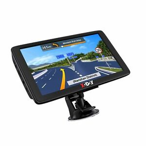 Xgody GPS Navigation for Car Truck GPS Navigation System 2021 Map 7 Inch Touc...