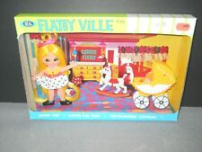 Vintage Doll FLATSYVILLE Carrie FLATSY Unopened NEW 1972 Blonde Baby Carriage