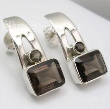 925 Silver Multi Shape, Multi Stone, STUD POST Earrings ! Handcrafted Jewelry