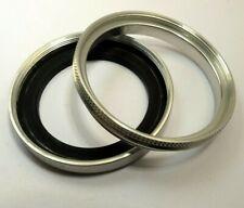 filtro negro 55 mm//piel 37 x 0,75 mm latón Heliopan anillo adaptador