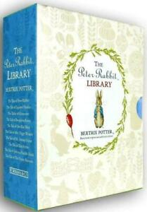 Beatrix Potter Peter Rabbit Library Coloured 10 Books Collection Box Set (New)