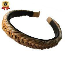 PRETTYSHOP Headband Plaited Braid Hair Band Hair Piece Different Colors (blonde