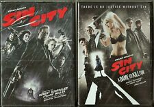 Sin City 1 & 2 Dvd Double Feature Pack Brand New