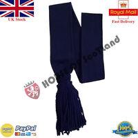 "Army Shoulder Sash Navy Blue/Sergeants Blue Sash Wool 32"",34"",36""/Guards Sash"