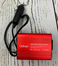 Odoga 150W Car Power Inverter DC 12V to 110V AC Car Adapter Dual USB Ports
