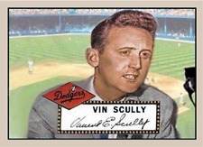 VIN SCULLY 52 CUSTOM ART CARD #### BUY 5 GET 1 FREE ### or 30% OFF 12 OR MORE