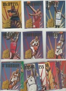 90's COMPLETE INSERT SET 1-20 1995-96 SKYBOX ROOKIE PREVUE STACKHOUSE RASHEED RC