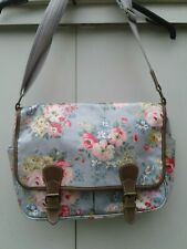 Lovely Blue & Pink  Cath Kidston Floral Satchel Bag