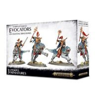 Evocators on Celestial Dracolines Warhammer Age of Sigmar