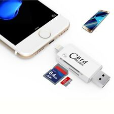 CHIAVETTA PENDRIVE 3in1 per Android IOS Iphone PC USB Flash Drive LETTORE OTG