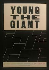 Hatch Show Print Poster Young The Giant 10.30.18 Ryman Auditorium Nashville
