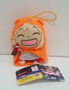 "Himouto! Umaru chan Doma Furyu Strap Mascot Plush 4"" TAG Toy Doll Japan"