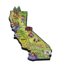 California State Artwood Jumbo Fridge Magnet Large Refrigerator Travel Souvenir