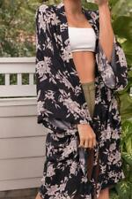 Spiritual Gangster Maya Kimono Floral Robe One Size