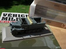 IXO TANK 1/43 CAMION MILITAIRE TRACTEUR LEGER Sd.Kfz.11 Light 3 ton Half track !