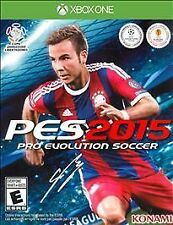 NEW Pro Evolution Soccer PES 2015 (Microsoft Xbox One, 2014)