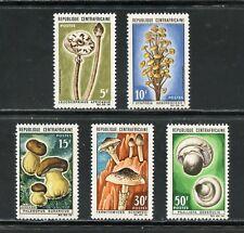 Central Afrique Champignons Scott # 81/85 Nh Menthe Scott Valeur