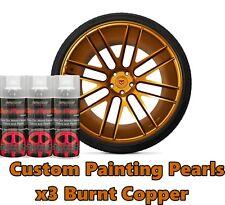 DYC Performix Plasti Dip Pearl Burnt Copper Alloy Aerosol Spray Cans x3 Free S/H