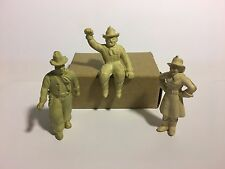 Marx vintage 1950's set of three Chubby Cowboy/Cowgirl figures