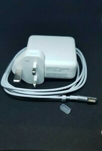 """UK 60W Mag Safe 1 Power Adaptor Charger Apple Macbook Pro L Pin 13"""" A1181 A1185"""