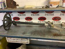 Steering column, box and wheel X Yamaha petrol golfbuggy / golf cart....£50+VAT