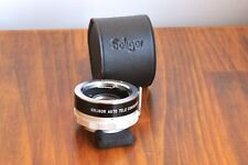 SOLIGOR Auto Teleconverter 2x , for Minolta Bayonet Lens w/ Case    - JAPAN