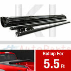 Roll Up Tonneau Cover For 2007-2021 Toyota TUNDRA 5.5 FT 66 Inch SHORT BED Lock