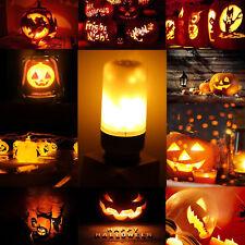 E27 E26 E14 B22 LED Burning Light Flicker Flame Lamp Bulb Fire Effect Decorative