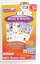 PLAYSKOOL ALPHIE BOOSTER PACK MUSIC & SOUND 300+ Questions w/ Cartridge Included