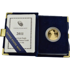 2011-W American Gold Eagle Proof (1/2 oz) $25 in OGP