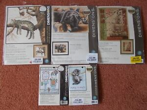 Cross stitch Kit 5 Assorted designs  New by Dimensions