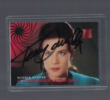 Terry Farrell Star Trek Deep Space Nine Signed Trading Card W/Our COA