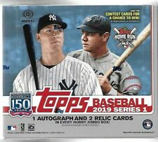 2019 Topps Series 1 Sealed Jumbo Hobby Box 1 Silver Pack