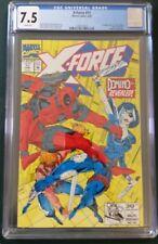 X-Force #11 CGC 7.5 Deadpool, 1st appearance Domino