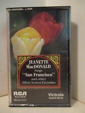 Cassette RCA ALK1-5376 Vintage 1985 JEANETTE MacDONALD Sings San Francisco 410